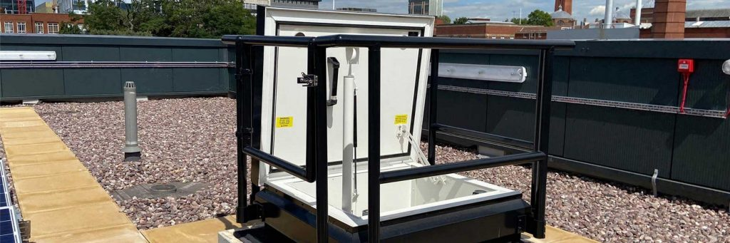 A Roof Access Hatch Is Not Just A Box - Banner - Thermally Broken Roof Hatch